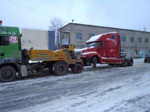 Профессиональная эвакуация грузового транспорта